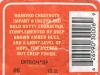 Chestnut Ale ▶ Gallery 1774 ▶ Image 5461 (Back Label • Контрэтикетка)