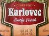 Karlovec Světlý Ležák ▶ Gallery 407 ▶ Image 1784 (Label • Этикетка)