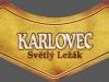 Karlovec Světlý Ležák ▶ Gallery 407 ▶ Image 4340 (Neck Label • Кольеретка)