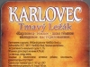 Karlovec Tmavý Ležák ▶ Gallery 554 ▶ Image 1523 (Back Label • Контрэтикетка)