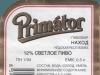Primátor Premium Lager ▶ Gallery 333 ▶ Image 774 (Back Label • Контрэтикетка)