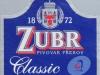 Zubr Classic světlé výčepní ▶ Gallery 2927 ▶ Image 10177 (Back Label • Контрэтикетка)