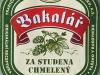 Bakalář Světlý Ležák ▶ Gallery 334 ▶ Image 4528 (Label • Этикетка)