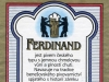 Ferdinand světlé ▶ Gallery 2366 ▶ Image 7868 (Back Label • Контрэтикетка)