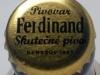 Ferdinand Světlý ležák ▶ Gallery 2368 ▶ Image 8649 (Bottle Cap • Пробка)