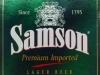 Samson Premium Světlý Ležák ▶ Gallery 2377 ▶ Image 7923 (Label • Этикетка)