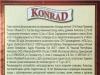 Konrad 12% světlý ležák ▶ Gallery 2546 ▶ Image 8549 (Back Label • Контрэтикетка)