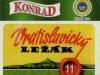 Konrad Vratislavický Ležák ▶ Gallery 2551 ▶ Image 8575 (Label • Этикетка)