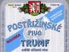 Trumf Postřižinské světlé výčepní ▶ Gallery 2375 ▶ Image 7902 (Label • Этикетка)