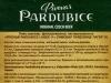 Pivovar Pardubice Lager 11 ▶ Gallery 2397 ▶ Image 8000 (Back Label • Контрэтикетка)