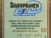 Staropramen Premium Světlý Ležák ▶ Gallery 2371 ▶ Image 7885 (Back Label • Контрэтикетка)