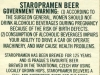 Staropramen ▶ Gallery 2389 ▶ Image 7966 (Back Label • Контрэтикетка)