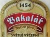 Bakalář Světlé Výčepní ▶ Gallery 1532 ▶ Image 7848 (Label • Этикетка)