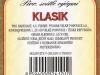 Radegast Klasik ▶ Gallery 2362 ▶ Image 7856 (Back Label • Контрэтикетка)