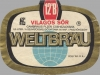 Weltbräu ▶ Gallery 674 ▶ Image 1867 (Label • Этикетка)