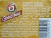 Gambrinus Premium ▶ Gallery 2042 ▶ Image 6514 (Back Label • Контрэтикетка)