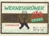 Wernesgrüner Pils ▶ Gallery 675 ▶ Image 1872 (Label • Этикетка)