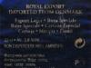 Royal Export Lager ▶ Gallery 643 ▶ Image 1818 (Back Label • Контрэтикетка)
