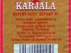 Karjala ▶ Gallery 1775 ▶ Image 5464 (Back Label • Контрэтикетка)