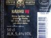 Karhu III ▶ Gallery 817 ▶ Image 2190 (Back Label • Контрэтикетка)