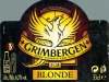 Grimbergen Blonde ▶ Gallery 2211 ▶ Image 7626 (Label • Этикетка)