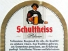 Schultheiss Pilsener ▶ Gallery 2091 ▶ Image 6697 (Back Label • Контрэтикетка)