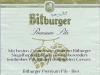 Bitburger Premium Pils ▶ Gallery 1591 ▶ Image 4793 (Back Label • Контрэтикетка)