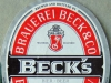Beck's Bier ▶ Gallery 793 ▶ Image 5436 (Label • Этикетка)