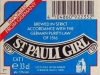 St. Pauli Girl ▶ Gallery 1842 ▶ Image 5687 (Back Label • Контрэтикетка)