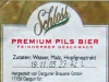 Schloss Premium Pils ▶ Gallery 1396 ▶ Image 4060 (Back Label • Контрэтикетка)