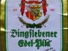 Dingslebener Edel-Pils ▶ Gallery 565 ▶ Image 1569 (Label • Этикетка)