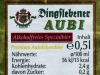 Dingslebener AUBI Alkoholfreies Spezialbier ▶ Gallery 2591 ▶ Image 8721 (Back Label • Контрэтикетка)