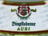 Dingslebener AUBI Alkoholfreies Spezialbier ▶ Gallery 2591 ▶ Image 8724 (Neck Label • Кольеретка)