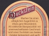 Duckstein ▶ Gallery 16 ▶ Image 804 (Back Label • Контрэтикетка)