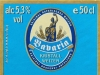 Bavaria Kristall Weizen ▶ Gallery 1598 ▶ Image 4820 (Back Label • Контрэтикетка)