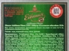 Eibauer Jubiläums Pilsner 1810 ▶ Gallery 2638 ▶ Image 10524 (Back Label • Контрэтикетка)