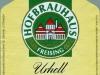 Hofbrauhaus Urhell ▶ Gallery 2240 ▶ Image 7731 (Label • Этикетка)