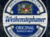 Weihenstephaner Original Helles ▶ Gallery 2588 ▶ Image 8874 (Label • Этикетка)