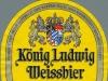 König Ludwig Weissbier Hell ▶ Gallery 2002 ▶ Image 6361 (Label • Этикетка)
