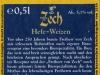 Freiherr von Zech Hefe-Weizen ▶ Gallery 2117 ▶ Image 6811 (Back Label • Контрэтикетка)