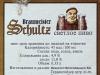 Braumeister Schultz pilsener ▶ Gallery 1115 ▶ Image 3210 (Back Label • Контрэтикетка)
