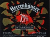 Herrenhäuser 7,2% Starkbier ▶ Gallery 2095 ▶ Image 6704 (Label • Этикетка)