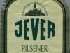 Jever Pilsener ▶ Gallery 907 ▶ Image 8449 (Label • Этикетка)