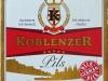 Koblenzer Pils ▶ Gallery 635 ▶ Image 4885 (Label • Этикетка)