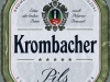 Krombacher Pils ▶ Gallery 2004 ▶ Image 6364 (Label • Этикетка)