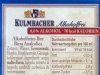 Kulmbacher Alkoholfrei ▶ Gallery 2992 ▶ Image 10438 (Back Label • Контрэтикетка)