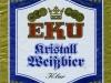EKU Kristall Weißbier Klar ▶ Gallery 2476 ▶ Image 8231 (Label • Этикетка)
