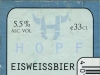 Hopf Eisweissbier ▶ Gallery 2402 ▶ Image 8016 (Back Label • Контрэтикетка)