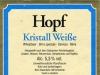 Hopf Kristall Weiße ▶ Gallery 2403 ▶ Image 8019 (Back Label • Контрэтикетка)