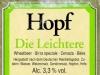 Hopf Die Leichtere ▶ Gallery 2401 ▶ Image 8013 (Back Label • Контрэтикетка)